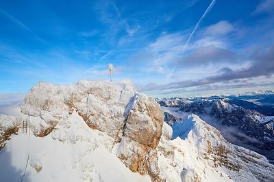 Zugspitze – Německo, Hintertux a jeho okolí – Rakousko