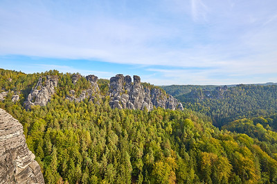 Bastei a Lilienstein – Saské Švýcarsko | Bastei and Lilienstein – Saxon Switzerland