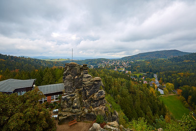 Nonnenfelsen – Německo | Nonnenfelsen (Nun's Rock) – Germany