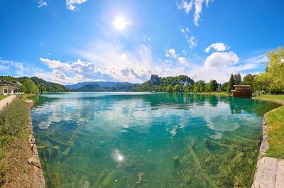 Okolí jezera Bled, Bohinjské jezero a Triglavský národní park – Slovinsko | Surroundings of Lake Bled, Lake Bohinj and Triglav National Park – Slovenia