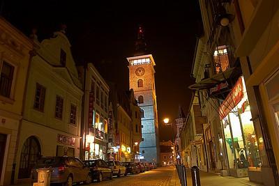 České Budějovice ve tmě