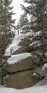Medvědí stezka v zimě