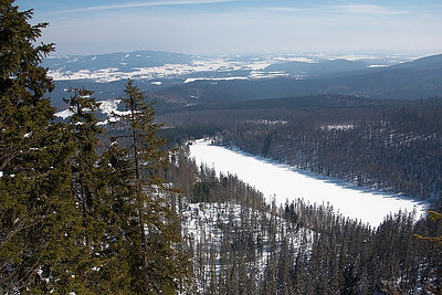 Plešné jezero, Plechý