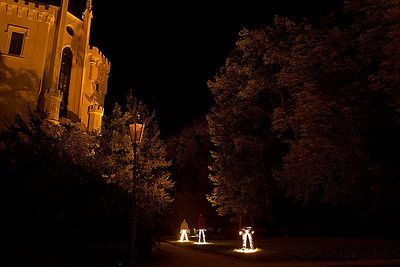 Noční zámek Hluboká