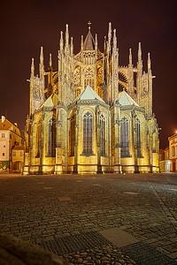 Noční fotografie Prahy