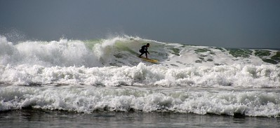 Surfing, Croyde Bay, North Devon