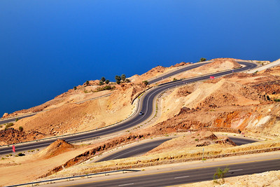 Abfahrt zum Toten Meer