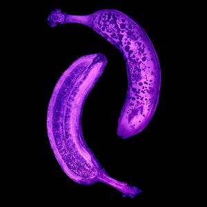 Banane - UV Licht