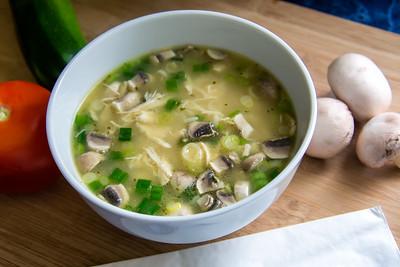 Soupe asiatique.