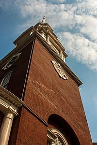 Vue du Park Street Church.