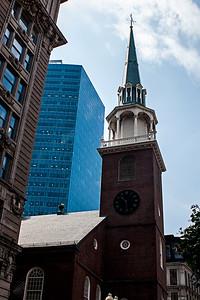 Église à Boston.