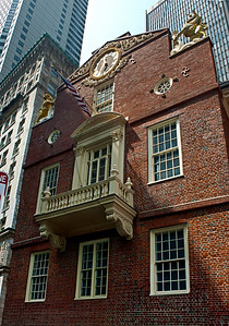 Balcon de la Old State House de Boston.