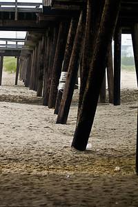 Quai sur la plage à Wildwood.