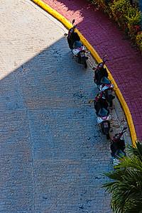 Moto à Varadero, Cuba.