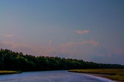 Paysage dans le Maine.