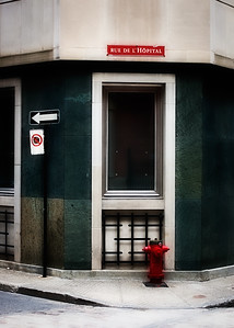 Rue de l'hopital.