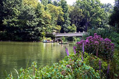 Pont à Central Park