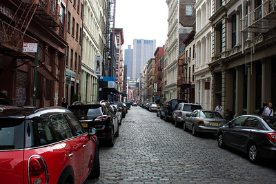 Rues à New-York.