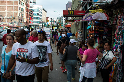 Affluence au Chinatown.