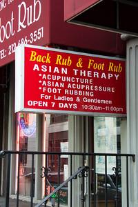 Thérapie asiatique à New-York.