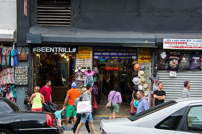 Boutique de souvenir à New-york.
