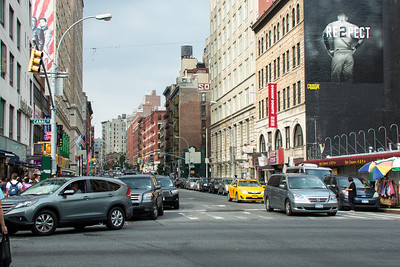 Canal street à New-York.