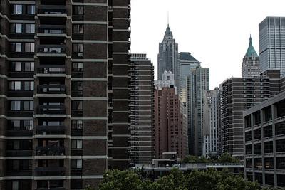 Édifice du Downtown de New-York.