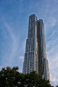 Vue de la Beekman Tower, Manhattan.