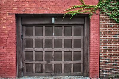 Porte de garage à Greenwich Village.