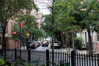 Rue Houston à Manhattan.