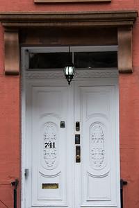 Dans les rues de Greenwich Village.