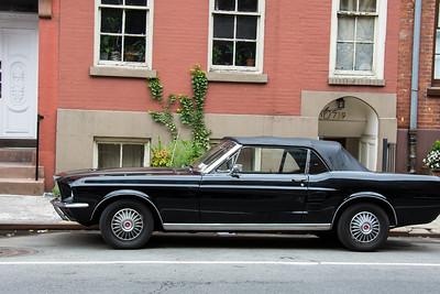 Mustang noire.