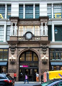 Entrée du Macy's de New-York.