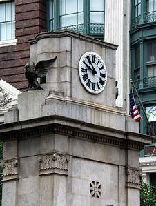 Horloge à Manhattan