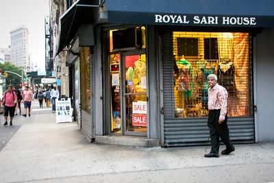 Commerce hindou de Manhattan.