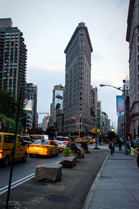 Le Flatiron building de Manhattan.