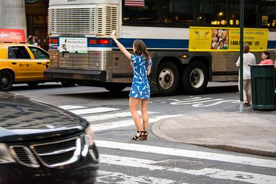 Jeune New-Yorkaise.