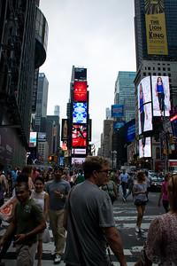 Enseignes publicitaires de New-York.