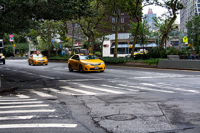 Yellow cab de New-York.