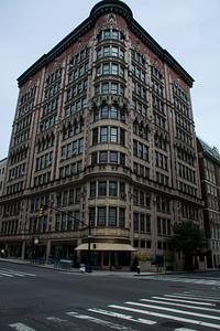 Bâtiments sur la 5e Avenue de New-York.