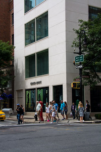 Boutique Armani de Manhattan.