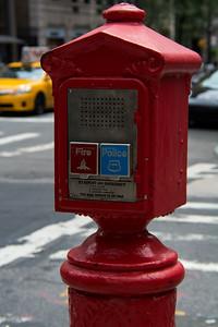 Borne d'urgence de New-York.