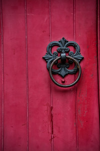 Poignées de portes de la Holy Trinity Lutheran Church.