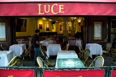 Restaurant Luce sur la 5e avenue.