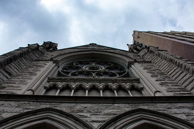 Façade de la Holy Trinity Lutheran Church.