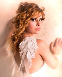 Modèle angélique.