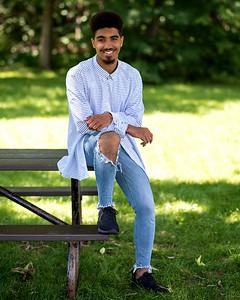 Jeune modèle masculin.