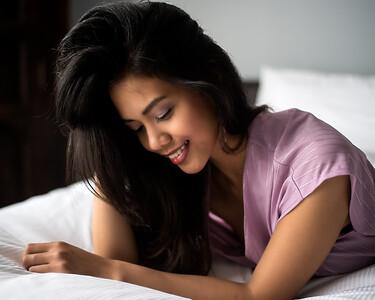 Jeune femme au beau sourire
