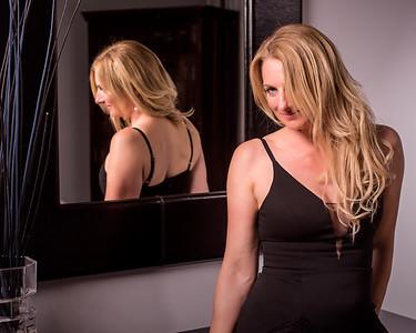 Jolie femme blonde