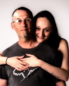 Portrait de couple.
